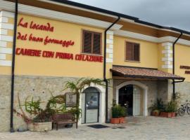 La Locanda del Buon Formaggio, hotel Titóban