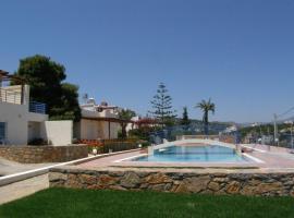 Poppy Villas, accessible hotel in Agios Nikolaos