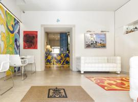 Porta del Tocco Design Rooms, hotell i Taormina