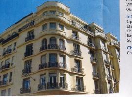Studio Carré d'Or, à 50 m de la plage et du Négresco, apartment in Nice