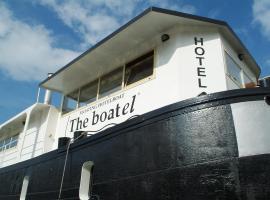 Hotel The Boatel, boetiekhotel in Gent