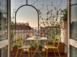 Tritone Top House, hotel in Rome