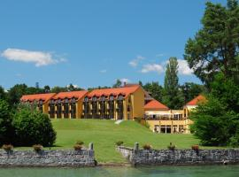 Hotel La Barcarolle, hotel near Divonne-les-bains thermal center, Prangins