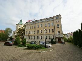 Hotel Zamkowy – hotel w pobliżu miejsca Słowiński Park Narodowy w mieście Słupsk