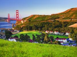 Cavallo Point, hotel near Golden Gate Bridge, Sausalito