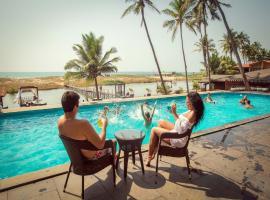 Riva Beach Resort, spa hotel in Mandrem