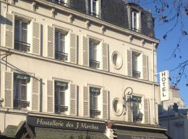 L'Auberge des 3 Marches, hotel near Saint-Germain Golf Course, Le Vésinet