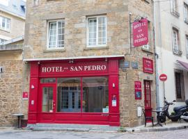 Hôtel San Pedro, hotel in Saint Malo