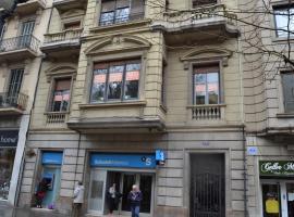 Hostel Friends Barcelona, hotel en Barcelona