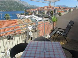 Guesthouse Franica, beach hotel in Korčula