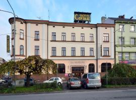 Hotel Central – hotel w Czeskim Cieszynie
