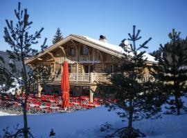 Le Lodge Chasse Montagne, hotel in Les Gets