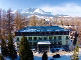 Penzion Volga, hotel near Lomnicky peak, Vysoké Tatry - Tatranská Lomnica