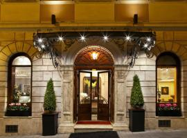 Albergo Ottocento, hotel in Via Veneto, Rome
