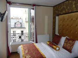 Hôtel des Buttes Chaumont, hotel near Parc de la Villette, Paris
