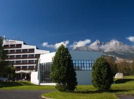Kongresové centrum SAV Academia, hotel near Lomnicky peak, Stará Lesná