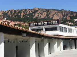 Agay Beach Hotel, hotel near Valescure Golf Club, Agay - Saint Raphael