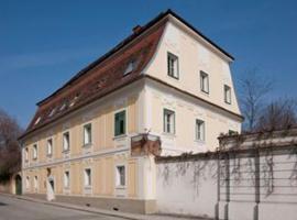 Hotel Garni Zum Alten Gerberhaus, hôtel à Pöllau