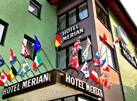 Hotel Merian Rothenburg, hotel a Rothenburg ob der Tauber