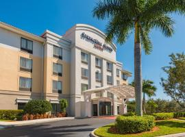 SpringHill Suites Fort Myers Airport, hotel near Southwest Florida International Airport - RSW,