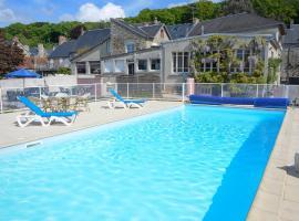 Hotel Restaurant Des Bains, hotel near Mont Saint Michel Abbey, Saint-Jean-le-Thomas