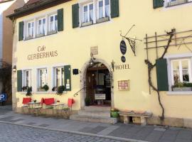 Hotel Gerberhaus, hotel in Rothenburg ob der Tauber