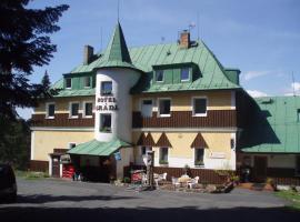 Hotel Gradl, hotel in Železná Ruda