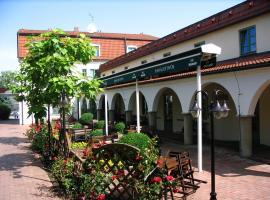 Hanacky Dvur, hotel v destinaci Olomouc