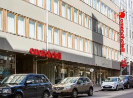 Omena Hotel Helsinki Lönnrotinkatu, hotel in Helsinki