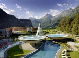 Aqua Dome 4 Sterne Superior Hotel & Tirol Therme Längenfeld, отель в городе Ленгенфельд