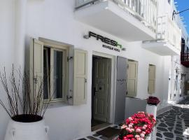 Fresh Boutique Hotel, pet-friendly hotel in Mýkonos City