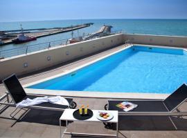 Hotel Tiber, hotell nära Rom Fiumicino flygplats - FCO,
