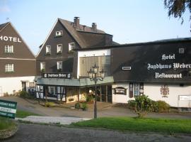 Jagdhaus Weber, hotel in Herscheid