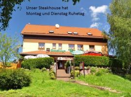 Steakhouse & Pension Crazy Horse, Hotel in der Nähe von: Döllberg Ski Lift, Suhl