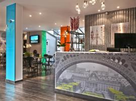 Hotel Alpha Paris Eiffel by Patrick Hayat, viešbutis mieste Bulonė-Bijankūras