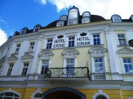 Hotel Koruna, family hotel in Jeseník