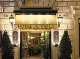 Hotel Valle, hotel in Colosseo, Rome