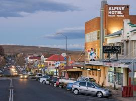 The Alpine Hotel, B&B in Cooma
