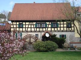 Hotel-Restaurant Bergmühle, hotel near Bayreuth New Palace, Neudrossenfeld