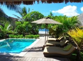 Green Lodge Moorea, hotel perto de Campo de golfe Moorea Green Pearl, Teavaro