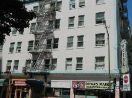 Admiral Hotel, hotel near Bill Graham Civic Auditorium, San Francisco
