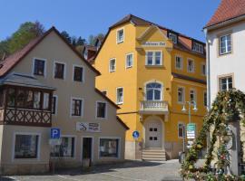 Hotel Wehlener Hof, Hotel in der Nähe von: Burg Stolpen, Stadt Wehlen