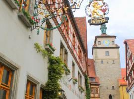 Tilman Riemenschneider, hotel in Rothenburg ob der Tauber