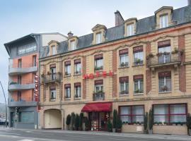 Hotel Le Pelican、シャルルヴィル・メジエールのホテル