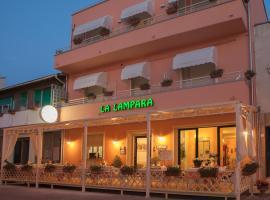 Albergo La Lampara, hotell i Marina di Cecina