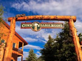 Cowboy Village Resort, romantic hotel in Jackson