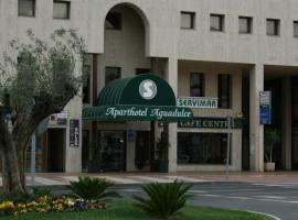 Apartahotel Aguadulce, serviced apartment in Aguadulce