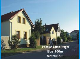 Pension Camp Prager, Privatzimmer in Prag