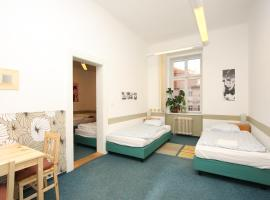 Charles Square Hostel, hostelli Prahassa