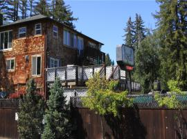 The Woods Hotel and Cabins, resort village in Guerneville